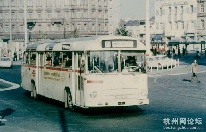搜网 德国公交车型1965 2005大赏奔驰 MAN高清图片