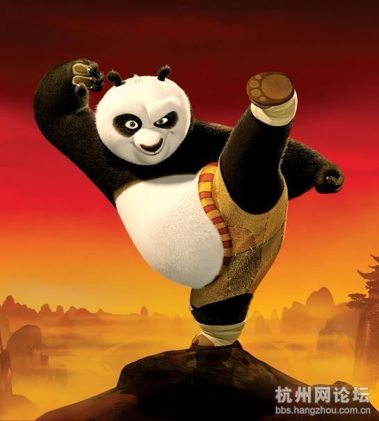 功夫熊猫海报若干