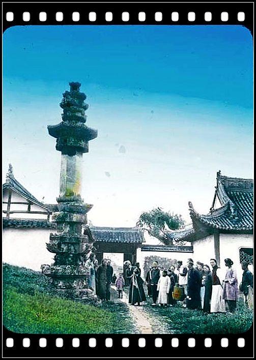百年前的杭州老照片图片