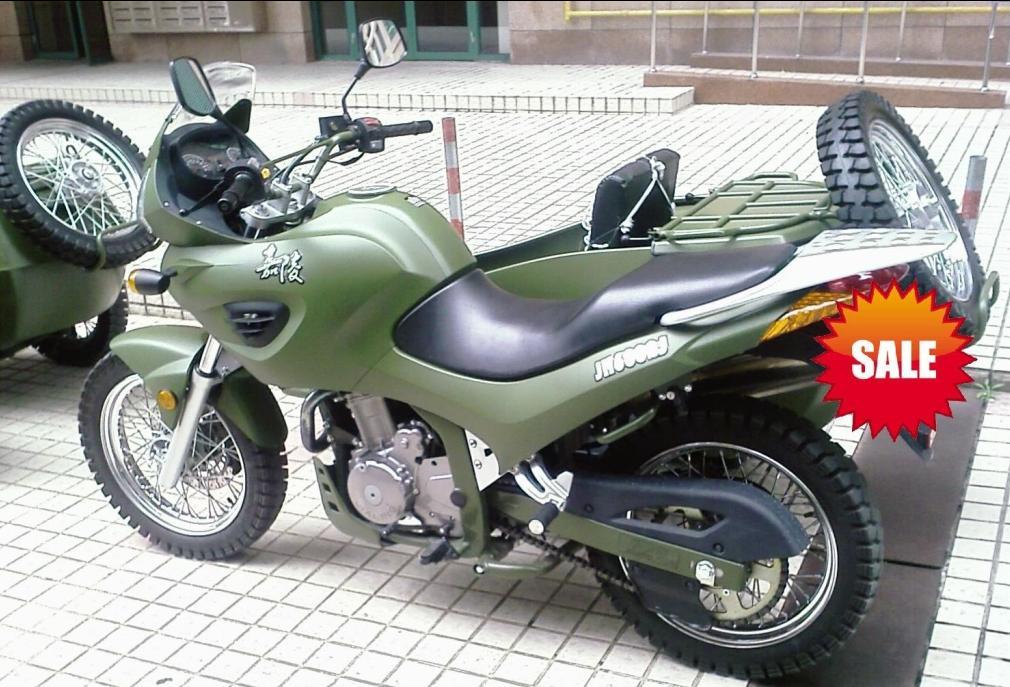 福建省警备处最新配备的纠察摩托车 嘉陵600cc边三轮